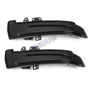 2x LED Rearview Mirror Turn Signals Light For Mercedes Benz W204 CLA A B C E GLA