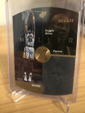 Reggie Miller 1998 Upper Deck SPX #19 Gold Holo Pacers