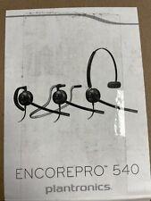 Plantronics EncorePro HW540 Versatile Headset 88828-01 C2