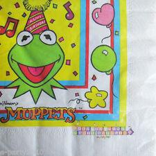 MUPPETS Kermit SMALL NAPKINS (16) ~ Vintage Birthday Party Supplies Beverage