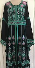 Abaya, Kaftan Embroidered Middle Eastern Women Dress