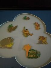 Framed DISNEY Limited Edition Pin Set GEORGE Of The JUNGLE 402/500