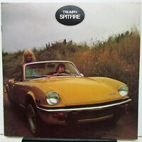1973 Triumph Spitfire Dealer Sales Brochure 1500 British Leyland US Market