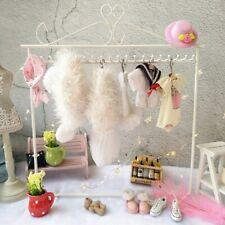 iron Hanger Rack 1/6 1/8 Blythe Bjd Doll Accessory Girl Gift Organize clothes
