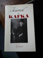 KAFKA JOURNAL ED GRASSET