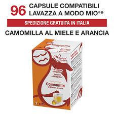 96 Cialde Capsule Camomilla Miele e Arancia compatibili Lavazza A Modo Mio