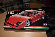 Tamiya 1/24 Scale Model Kit #24077 Ferraro F40 NEW IN BOX
