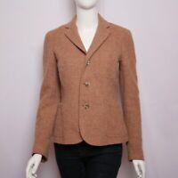 Ralph Lauren Womens Jacket Blazer Tweed Wool Alpaca made in Italy size 6