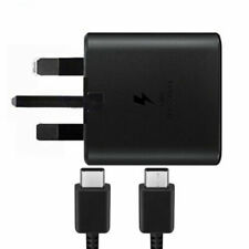 GENUINE SAMSUNG 25W FAST CHARGER / CABLE FOR GALAXY FOLD S10 S10+ NOTE 10, 10+
