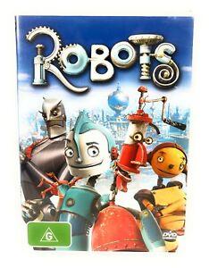 Robots (DVD, 2005) Robin Williams Region 4 Free Postage