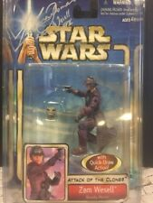 STAR WARS  Zam Wesell SIGNED ATTACK OF THE CLONES Leeanna Walsman