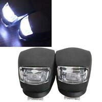 2 x LED Bicycle Bike Cycling Silicone Head Front Rear Wheel Safety Light Lamp I∩