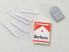 "NEW GI JOE 1/6 SCALE MARLBORO CIGARETTES LIGHTER FOR 12"" ACTION FIGURE ACCESSORY"