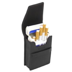 Zigarettenetui Leder, Cover Up, Lederetui, Zigarettenbox echtes Rindleder