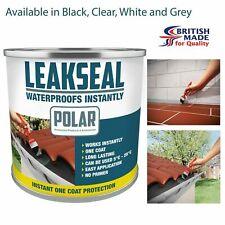 Polar Waterproof Roof Sealant Paint Leak Repair in White, Black, Clear & Grey