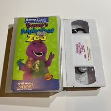 Barney & Friends - Barneys Alphabet Zoo (VHS, 1994)