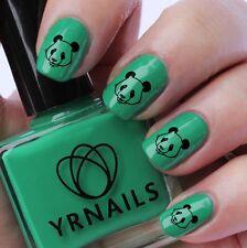 NAIL Wraps Nail Art acqua trasferimenti Decalcomanie-Panda Cinese-s333