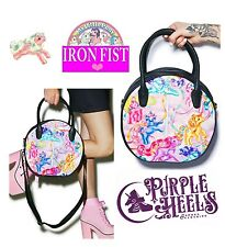 IRON Fist My Little Pony Limited Edition MERRY GO ROUND Pastello Rosa Tote Bag