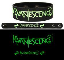 Evanescence wristband rubber bracelet glow in the dark