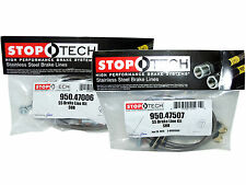 Stoptech Stainless Steel Braided Brake Lines (Front & Rear Set / 47006+47507)