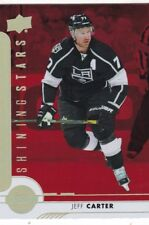 JEFF CARTER 2017-18 17-18 UPPER DECK 1 RED SHINING STARS #SSC-4 KINGS