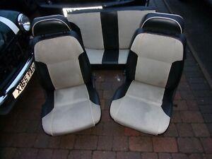 Classic Rover Mini MPI Monaco Half Leather(look) Seats Door Cards Interior