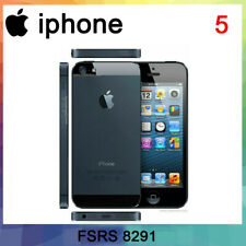 Apple iPhone 5 - 32GB - Black white (Unlocked) GSM CDMA WCDMA Smartphone