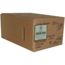 Willtec Vanilla Cream Bag in box Soda Syrup Concentrate, 5 gal