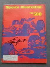 Emerson Fittipaldi Autographed Sports Illustrated May 29, 1967 Ex Condition