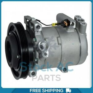 New A/C Compressor for Nissan Frontier, Xterra 3.3L - 1999 to 2004