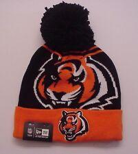 5fe45334322 Cincinnati Bengals Licensed NFL Authentic New Era Logo Whiz Cuffed Knit Cap