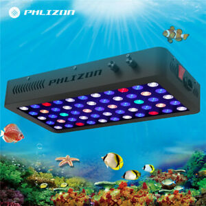 Aquarium Light 165W LED Coral Lamp Full Spectrum Dimmable for Reef Plants & Fish