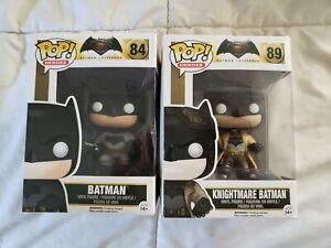 Batman Funko Pop BundleBatman vs superman: Batman 84 and knightmare 89
