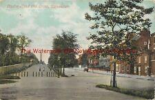 Yorkshire Doncaster London Road & Cross Vintage Postcard 18.7