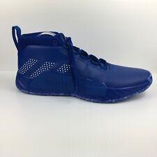 Adidas SM Dame 5 Team Blue Basketball Men's Size 18 Damian Lillard EE5427 NEW