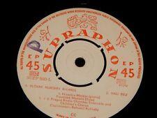 Vintage Record, RARE SUPRAPHON EP, IMPORT,1953, Slovak Nursery Rhymes,Czech Folk