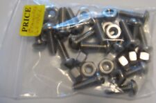 "STAINLESS STEEL NUTS AND BOLTS, 16CT, 1/4"" X 3/4"""