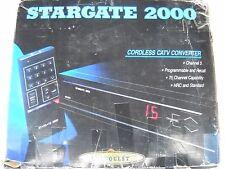 STARGATE 2000 CORDLESS CATV CONVERTER BOX