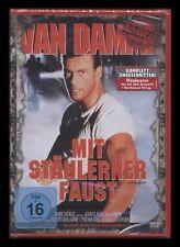 DVD MIT STÄHLERNER FAUST - UNGESCHNITTEN - UNCUT - JEAN-CLAUDE VAN DAMME * NEU *