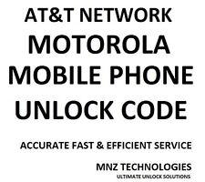 AT&T Red Motorola código de desbloqueo Moto X Xt1053 Xt1058 Atrix Ii Mb865 Atrix Hd