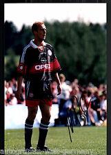 Mario Basler super grandi foto 20x30 cm il Bayern Monaco ORIG. Sign. +26