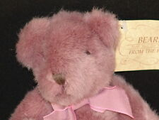 NEW LAVENDER RUSS BEARS FROM THE PASS PLUSH TEDDY STUFFED ANIMAL TOY