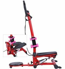 Fitness Air Stair Climber Stepper Exercise Machine Portable Equipment Workout
