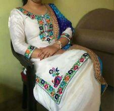 White Traditional Punjabi Patiala Ethnic Designer Indian party wear salwar suit