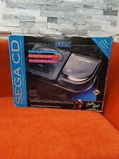 Sega CD Model 2 Video Game Console Black 4102 in Original Box - Tested & Working