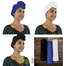 Women's Turban Stretch Knit Head Wrap Hair Jersey Scarf Tie Chemo African 175x81