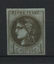 """FRANCE STAMP TIMBRE 39 Ab """" CERES BORDEAUX 1c OLIVE FONCE R 1 """" NEUF xx TTB T118"""