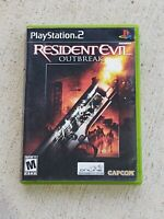 Resident Evil Outbreak - PS2 Playstation 2 - COMPLETE Game Tested and Working
