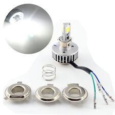 1800LM COB 18W H4 Hi/Lo LED Motorcycle Headlight Bulb P15D BA20D Motor Lights