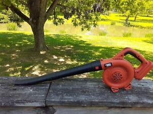 Black & Decker 18v NSW18 Type 1Cordless Leaf Blower BARE TOOL ONLY